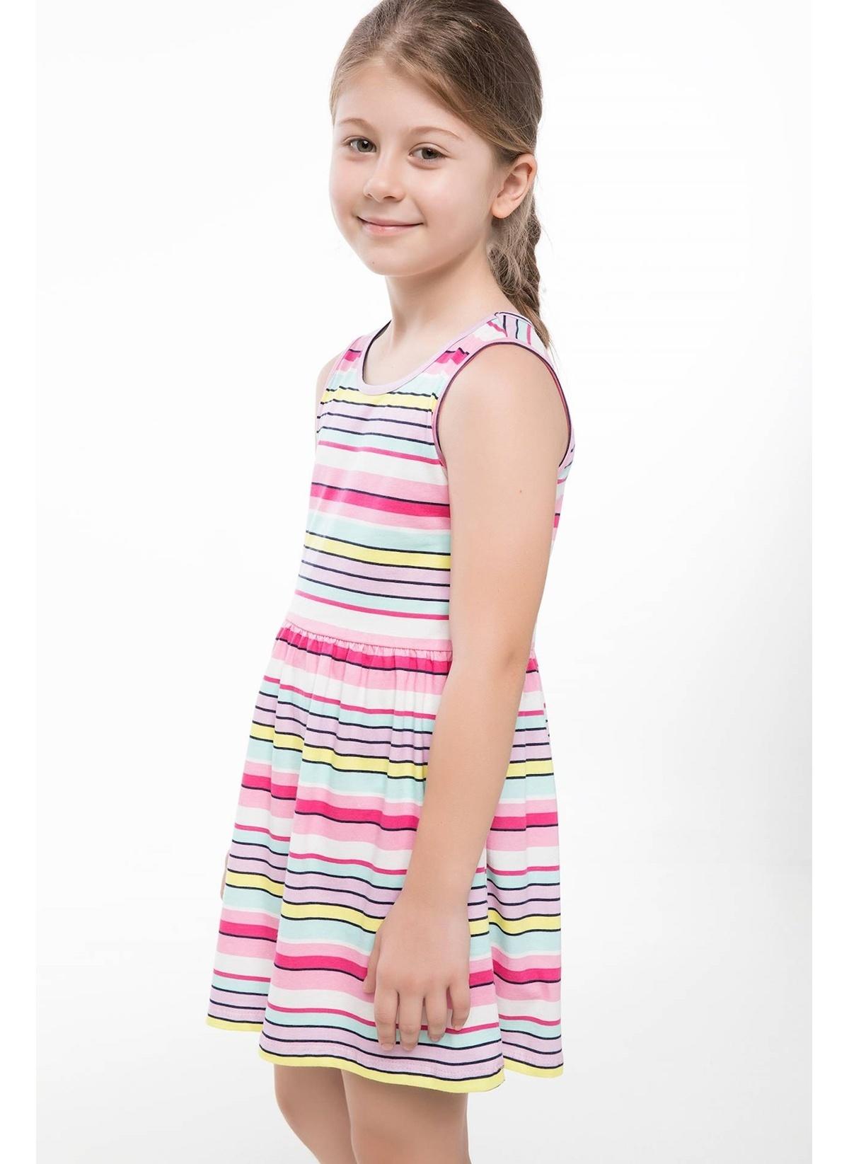 Defacto Elbise K0157a618hser178 Çizgili Elbise – 19.99 TL